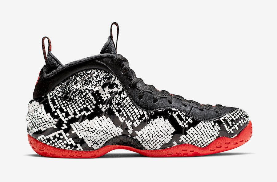 Snakeskin Nike Air Foamposite One 314996-101 Release Date