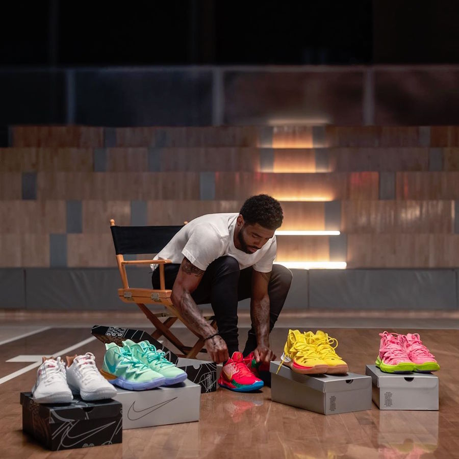SpongeBob Nike Kyrie 5 Collection Release Date