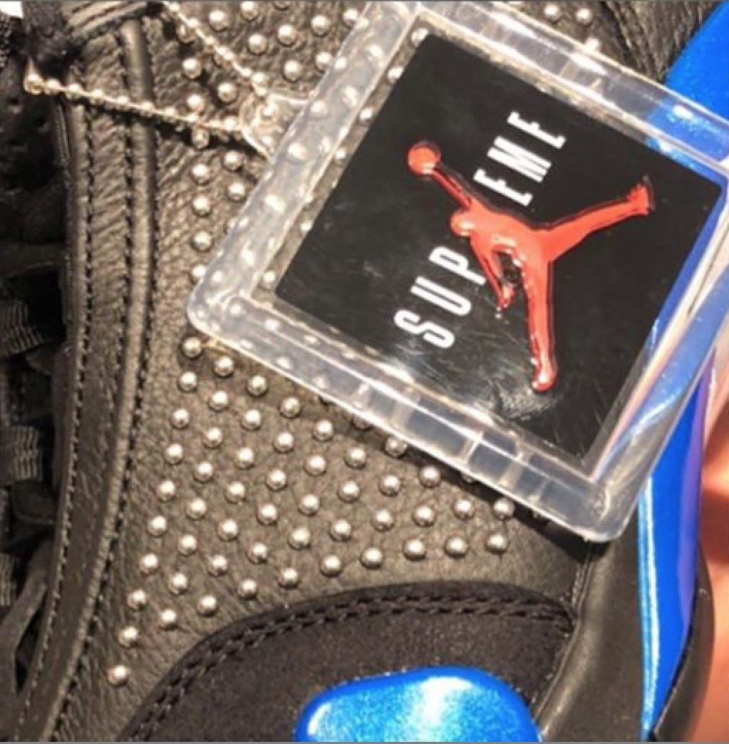 Supreme Air Jordan 14 Black Blue Release Info