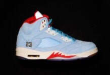 Trophy Room Air Jordan 5 Ice Blue Release Date Info