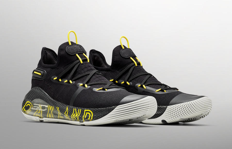 Under Armour Curry 6 Thank You Oakland Release Info