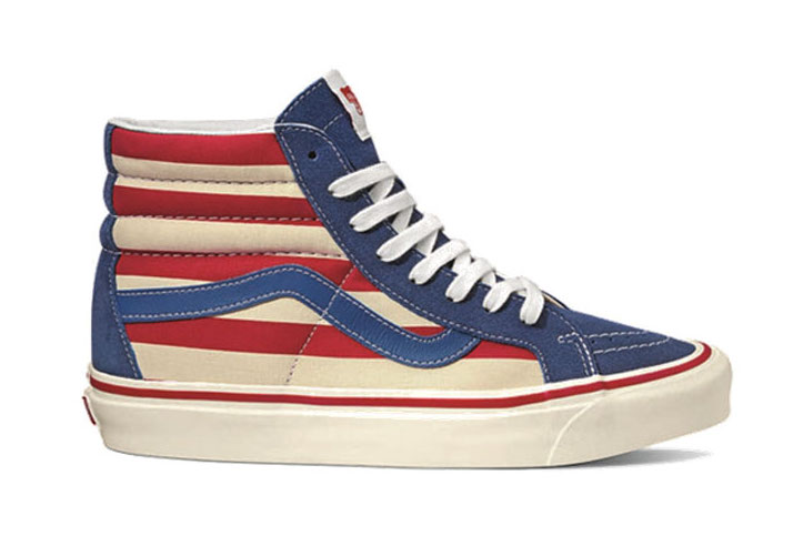 Vans Anaheim Factory SK8-Hi Red Stripes Pack Release Info