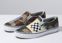Vans Slip-On Mixed Quilting Camo Release Info
