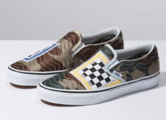 Vans Slip-On Mixed Quilting Camo Release Info