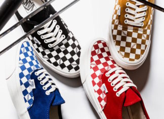 Vans Vault Authentic LX Checkerboard Pack
