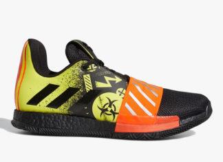 adidas Harden Vol. 3 Toxic FV2592 Release Date Info