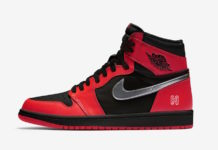 Air Jordan 1 Black Gym Red Metallic Silver 575088-060 Release Date Info