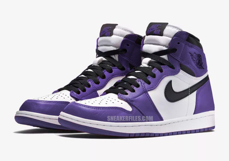 Air Jordan 1 Court Purple 555088-500 2020