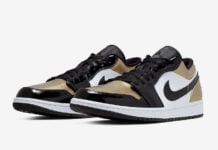 Air Jordan 1 Low Gold Toe CQ9447-700 Release Date Info