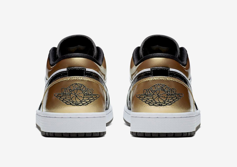 Air Jordan 1 Low Gold Toe CQ9447-700 Release Date Info
