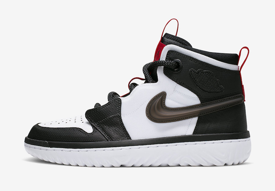 Air Jordan 1 High React White Black Red AR5321-016 Release Date Info