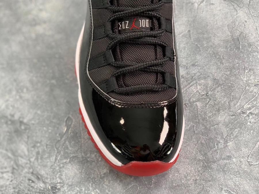 Air Jordan 11 Bred Release Date 2019 378037-061