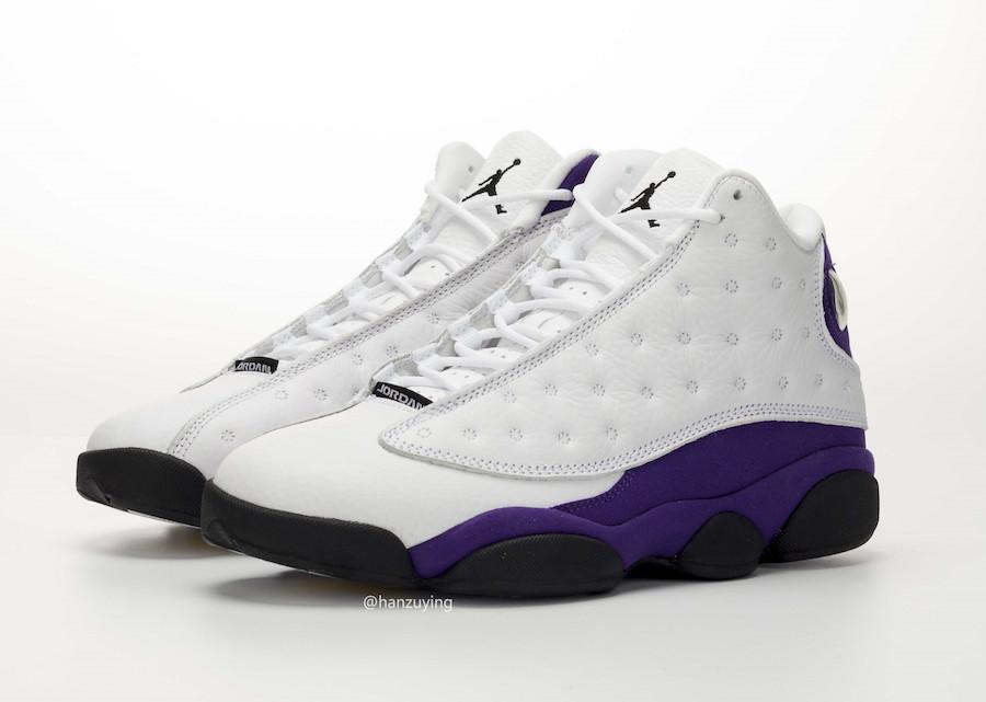 big sale 2189d b0b81 Air Jordan 13 Lakers 414571-105 Release Date | SneakerFiles