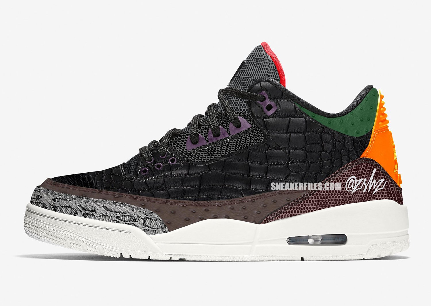 Air Jordan 3 Animal Print Pack Multi-Color CK4344-002 Release Date