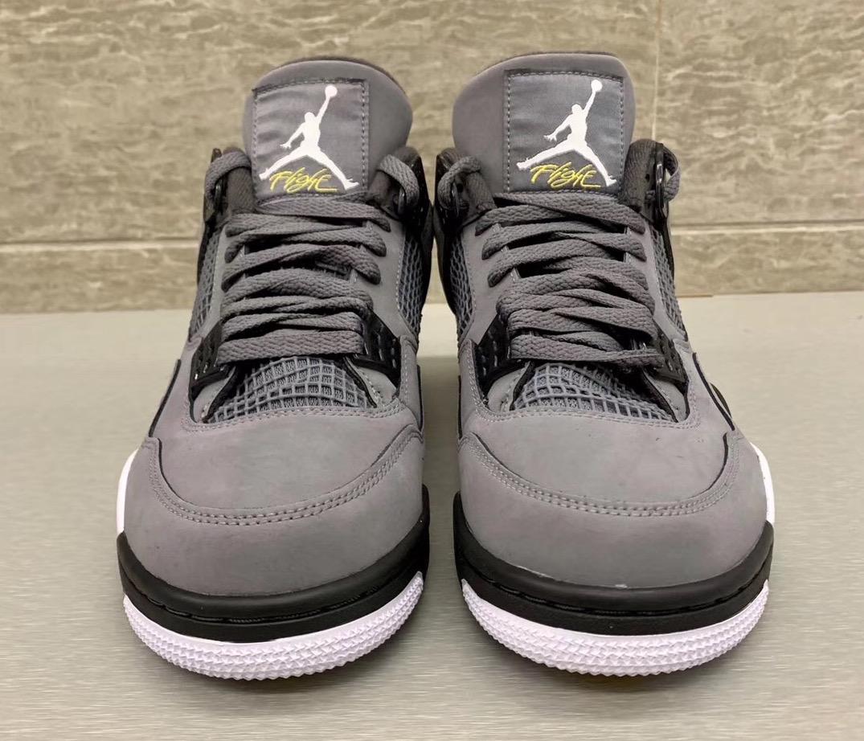 Air Jordan 4 Cool Grey 308497-007 2019 Retro Release Info