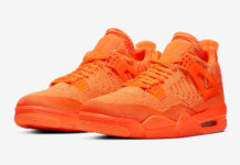 Air Jordan 4 Flyknit Total Orange AQ3559-800 Release Date Info