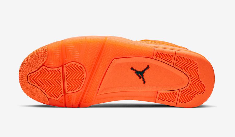 Air Jordan 4 Flyknit Total Orange AQ3559-800 Release Date Info