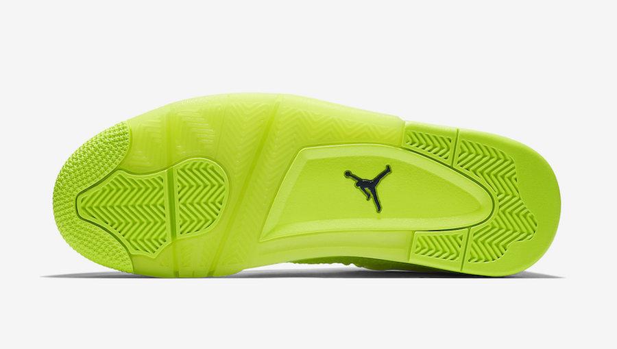 Air Jordan 4 Flyknit Volt AQ3559-700 Release Date Info