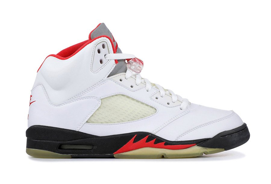 Air Jordan 5 Fire Red 3M Silver Tongue 2020 Release Date Info