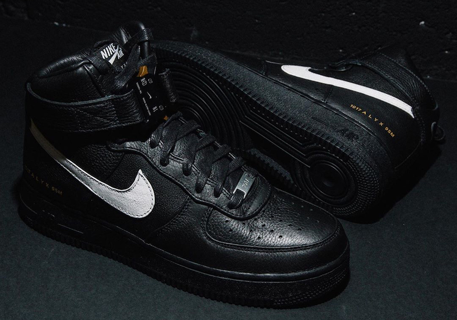 Alyx Nike Air Force 1 High Release Date