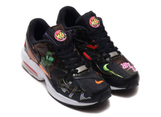 atmos Nike Air Max2 Light Black Alternate CI5590-001 Release Info