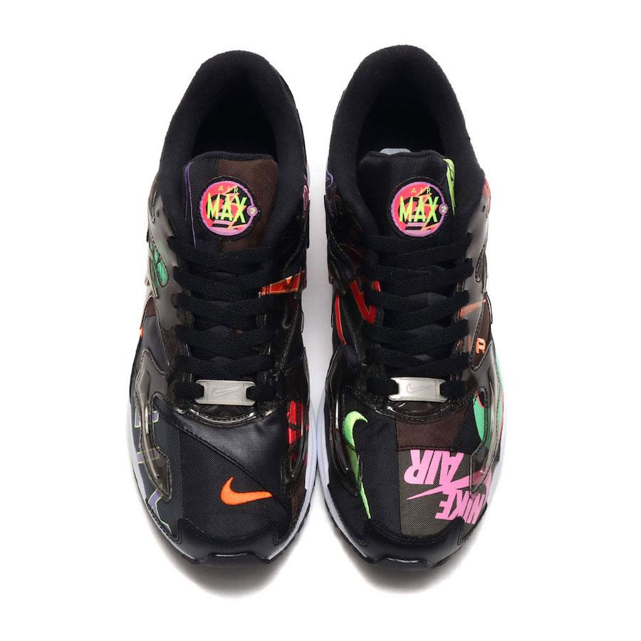 atmos Nike Air Max2 Light Black CI5590