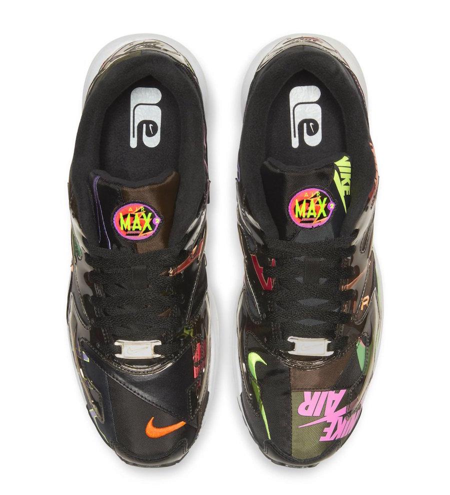 atmos Nike Air Max2 Light Black Alternate Release Info