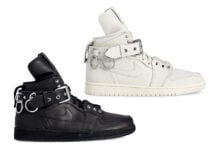 CDG Homme Plus Air Jordan 1 Black White Release Date