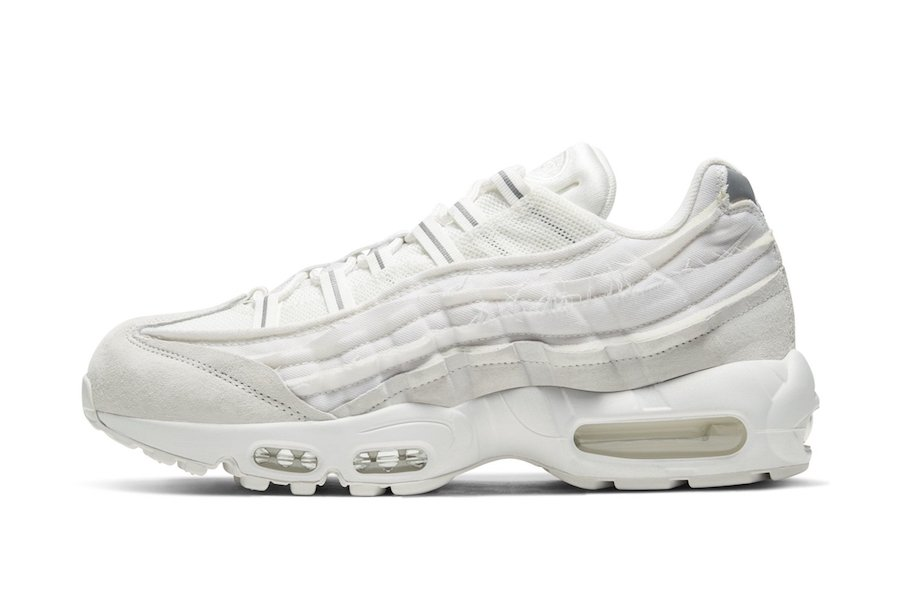 Comme des Garcons Nike Air Max 95 White Release Date Info