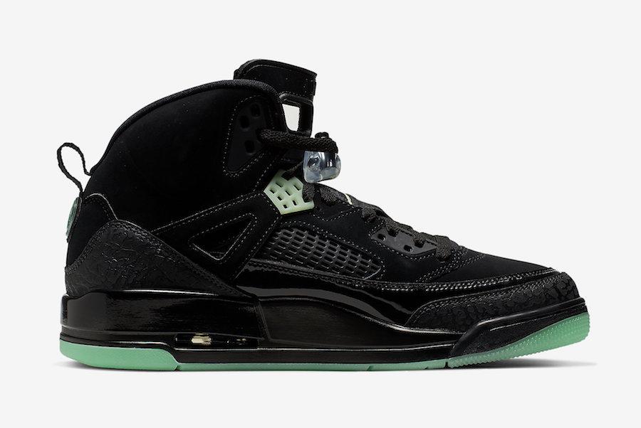 Jordan Spizike Green Glow 315371-032 Release Info