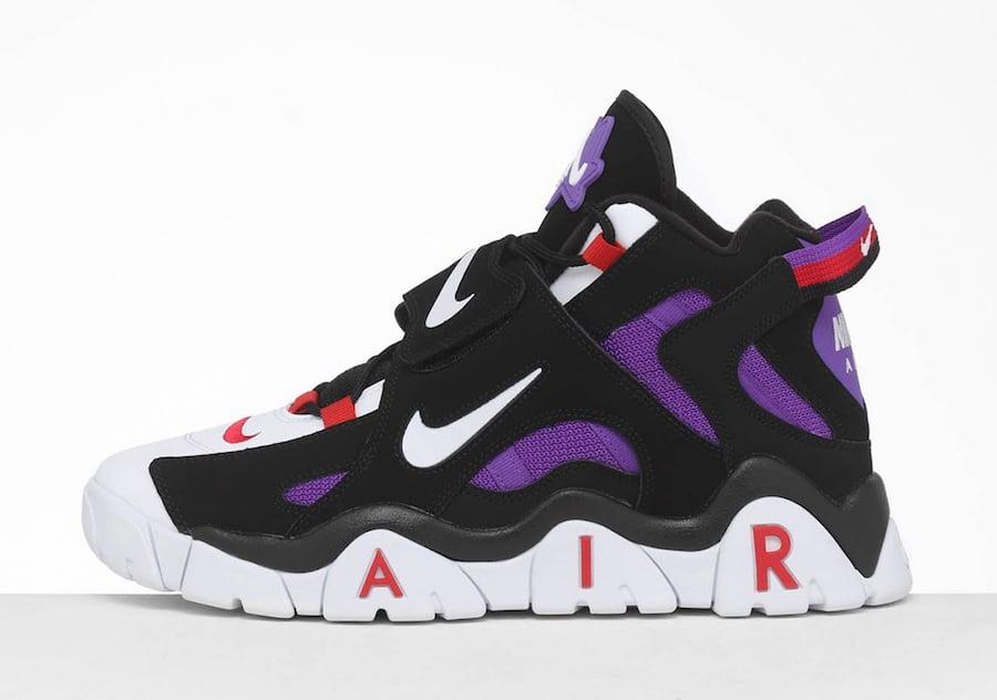 Nike Air Barrage Mid Raptors CD9329-001 Release Info