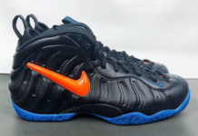 Nike Air Foamposite Pro Knicks 624041-010 Release Info