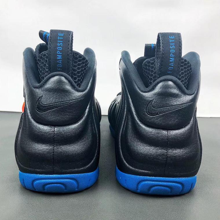 Nike Air Foamposite Pro Knicks 624041-010 Release Info