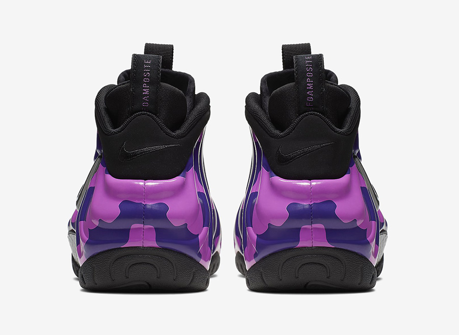 Nike Air Foamposite Pro Purple Camo 624041-012 Release Date