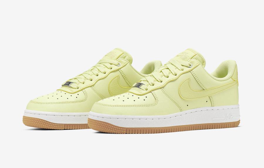 Nike Air Force 1 Low Premium Luminous Green 896185 302