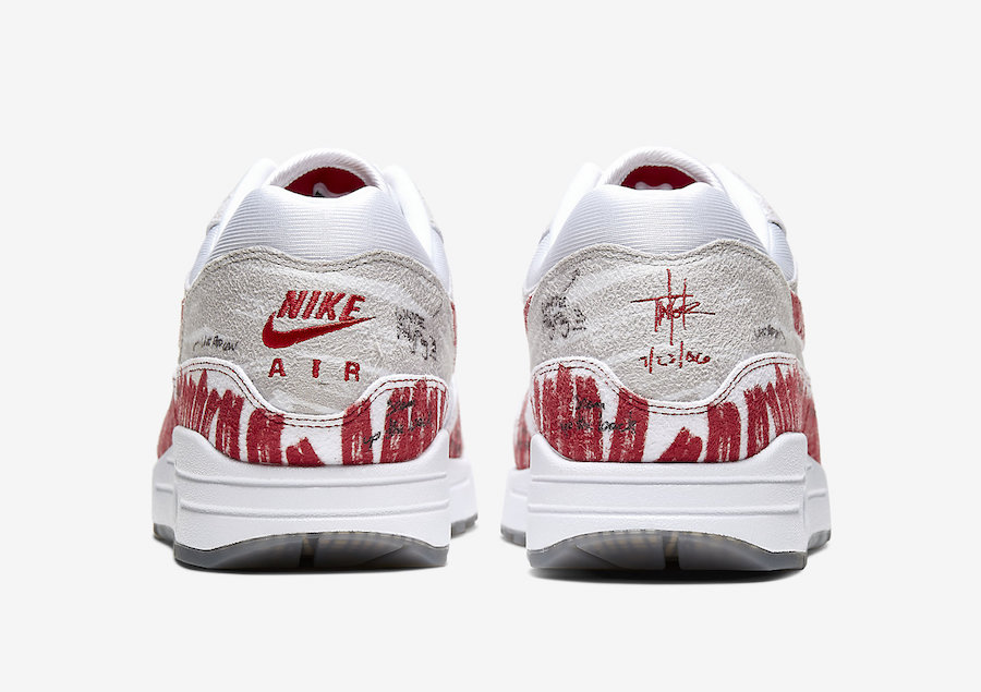 Nike Air Max 1 OG Tinker Sketch To Shelf CJ4286-101 Release Date Info