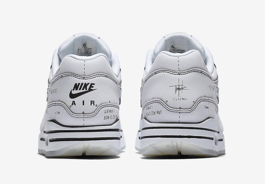 Nike Air Max 1 Sketch to Shelf CJ4286-100 Release Date Info