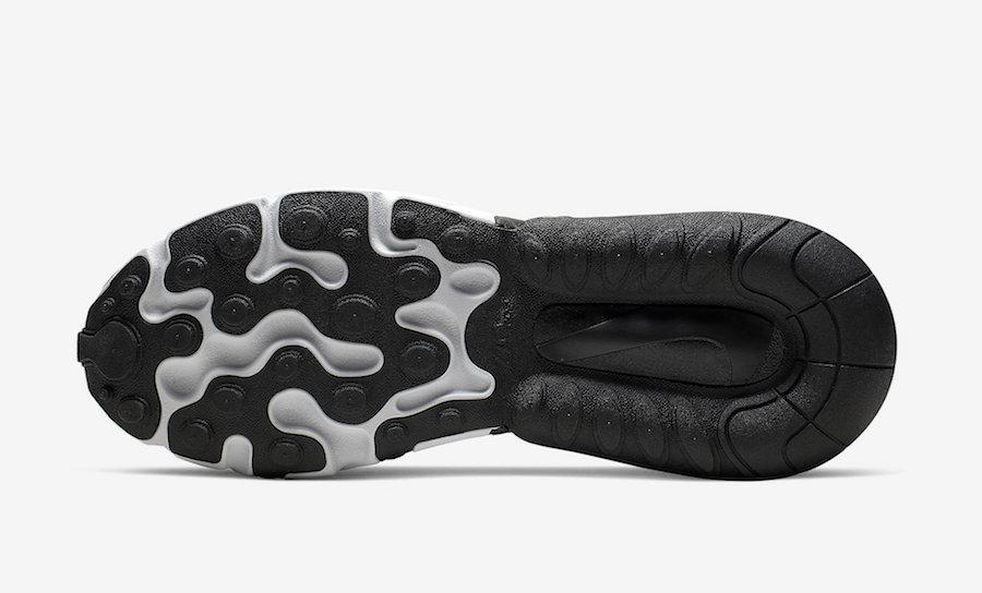 Nike Air Max 270 React Optical Black Off Noir Release Date Info