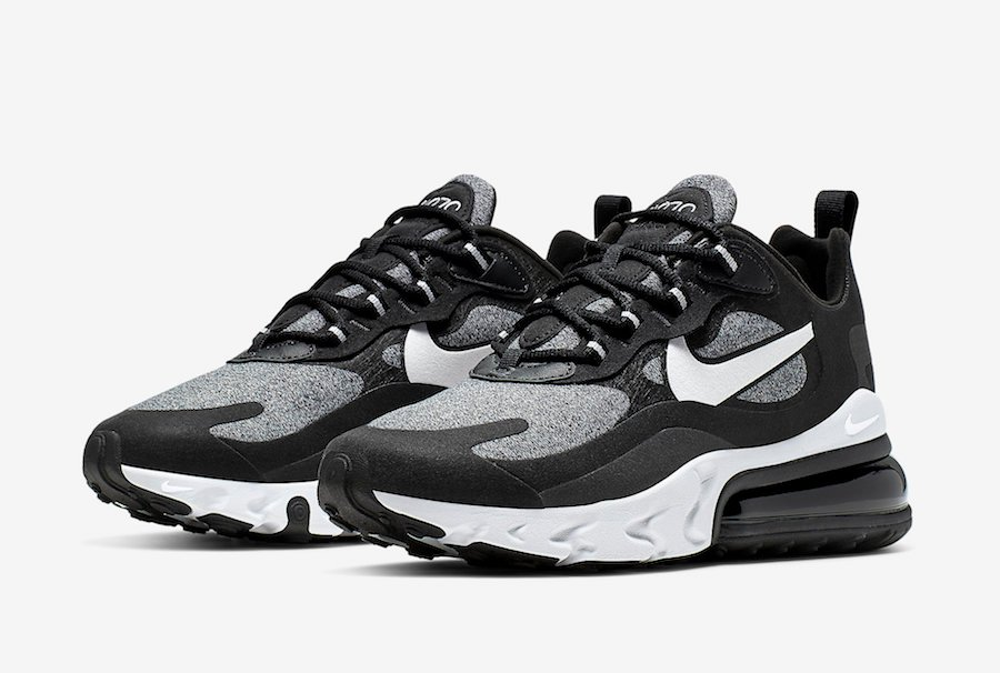 Nike Air Max 270 React Optical Black Off Noir AT6174-001 Release Date Info | SneakerFiles