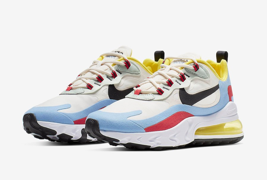 Nike Air Max 270 React WMNS Bauhaus AT6174-002 Release Date Info