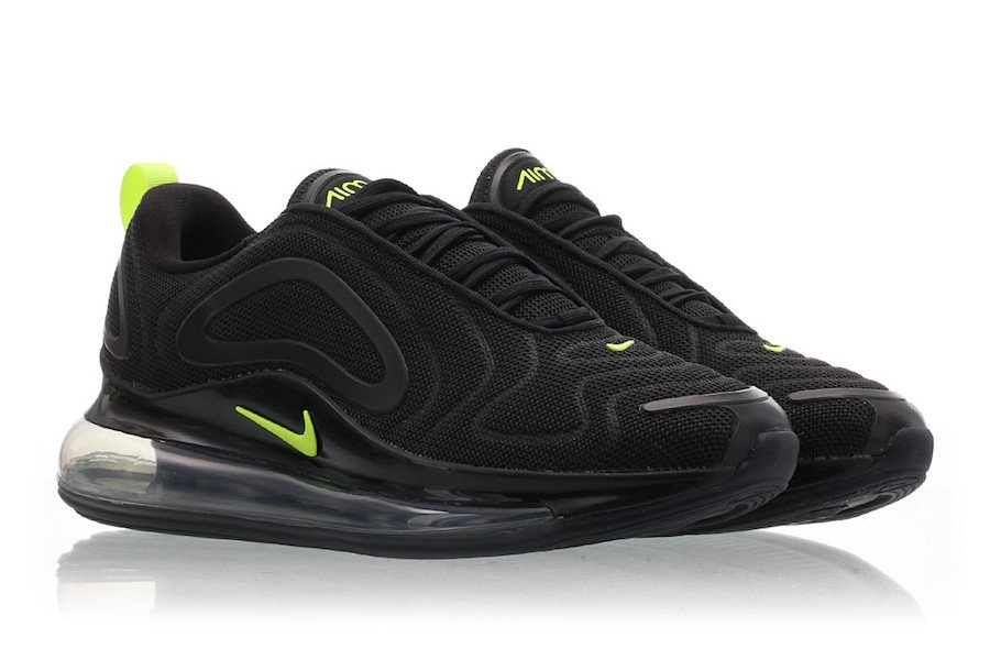 Nike Air Max 720 Black Volt Anthracite CD7626-001 Release Info