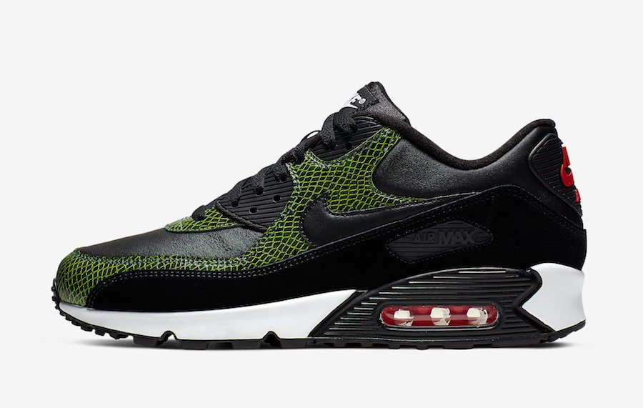 Nike Air Max 90 Green Python CD0916-001 Release Date Info