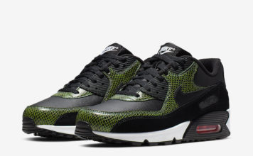 cheaper 9f12f f5c2a Nike Air Max 90 'Green Python' Release Date