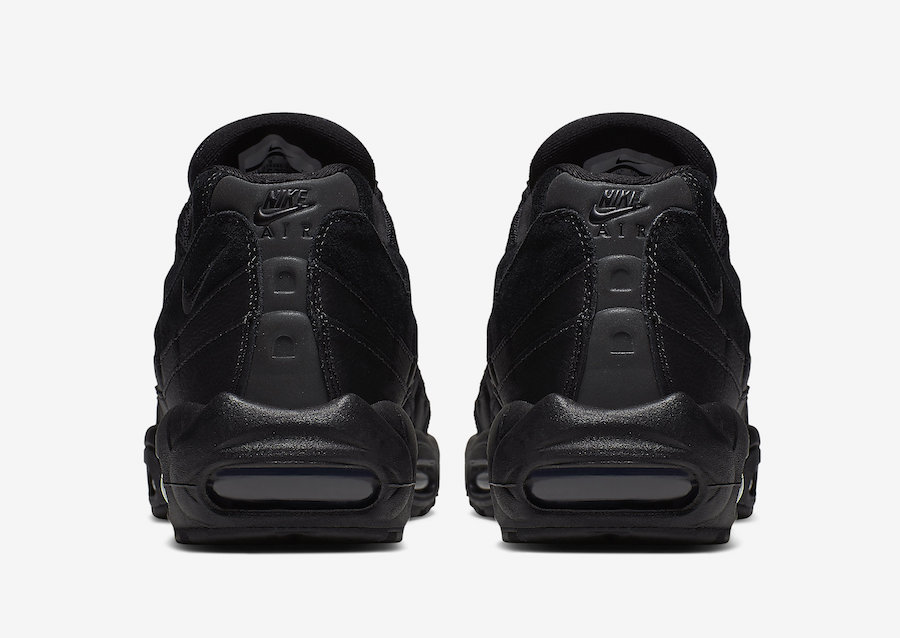 Nike Air Max 95 Essential Triple Black AT9865-001 Release Info