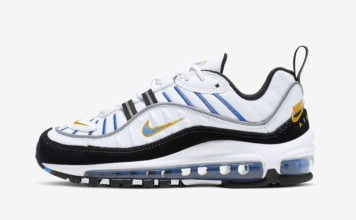 official photos d312c 8bfc0 This Nike Air Max 98 Features Nike Air Branding on the Heels
