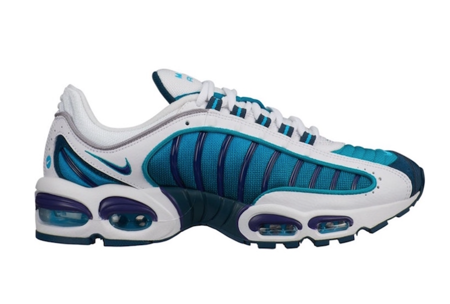Nike Air Max Tailwind 4 Spirit Teal Regency Purple AQ2567-101 Release Info