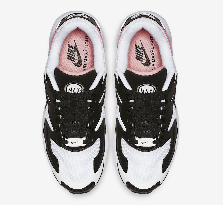 Nike Air Max2 Light Black White Pink AO3195-101 Release Date Info