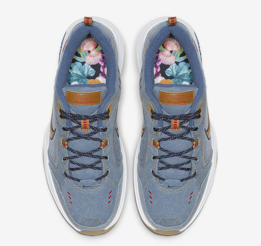 Nike Air Monarch 4 Denim AV6676-400 Release Info