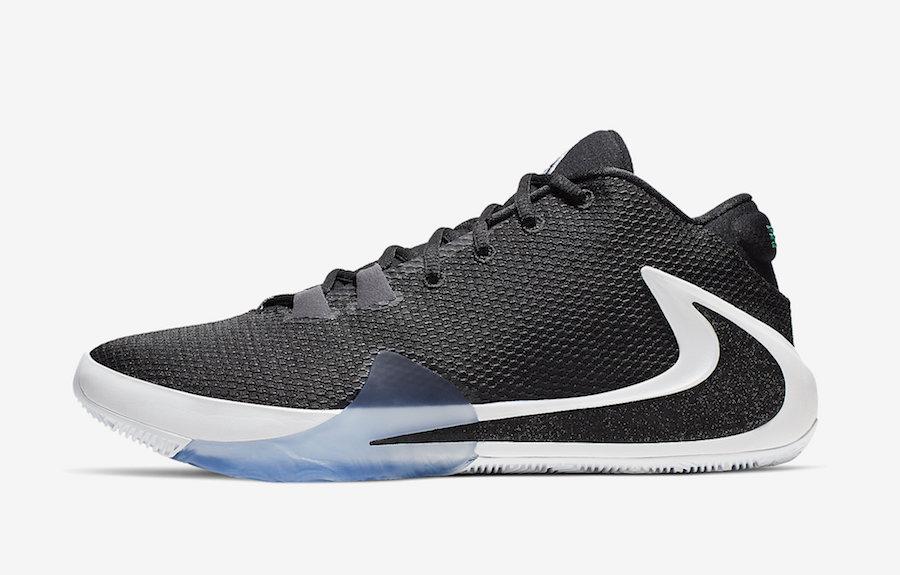 Nike Freak 1 Black White Lucid Green BQ5422-001 Release Date Info