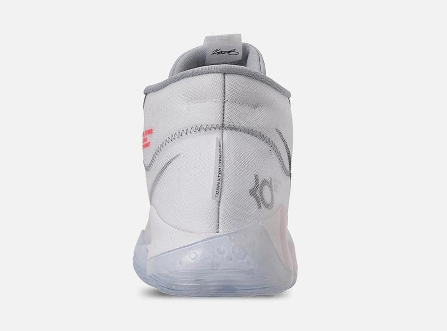 Nike KD 12 Wolf Grey AR4229-101 Release Info